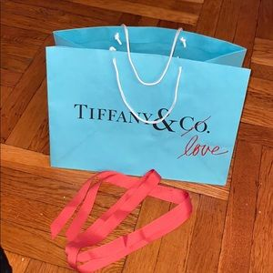 Tiffany and Co. collectible shopping bag ribbon 🎀